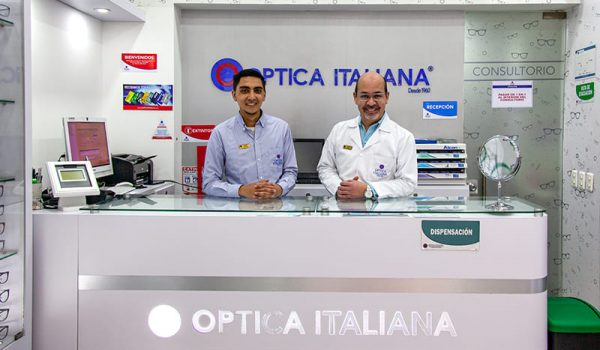 Óptica Italiana | Trabajando desde 1960
